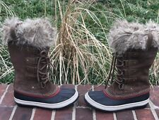 Sorel Joan of arctic umber boots size 7 gently used