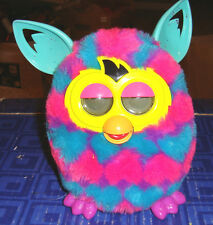 FURBY  Interactive Pink Blue  Plush Pet Toy Hasbro Electronic, Digital Eyes