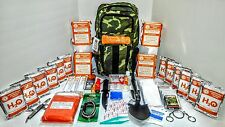 12 Day Premium Disaster Emergency Survival Kit Bug Out Bag Earthquake FOOD-WATER