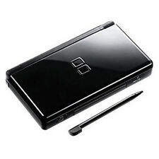 Neuf Black Noir Nintendo ds lite Console System and free Protect Films NDSL