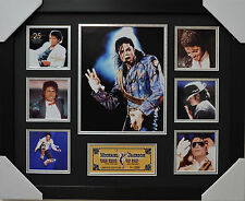 MICHAEL JACKSON SIGNED AND FRAMED LIMITED EDITION #2