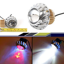 Motorcycle Headlight Cree Led Projector Lens Angel eye and Devil eye Spot light