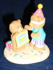 """Russ BIRTHDAY BEARS Figurine """"A DAY TO REMEMBER"""""""
