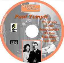 The Adventures of Paul Temple - 105  Old Time Radio Shows - Audio MP3 CD OTR