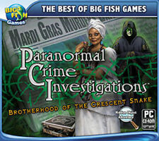 PARANORMAL CRIME INVESTIGATIONS PC Game Puzzle Solving PAL 2013 PG