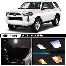 White Interior LED Lights Package Kit for 2015 & up Toyota 4Runner + TOOL
