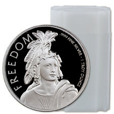 Statue of Freedom 1 oz. Prooflike Silver Round - Roll of 20 Rounds SKU44147