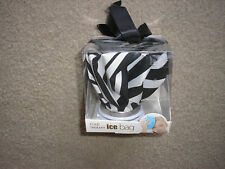 Brand New Cold Therapy Ice Bag Black and White Striped London Bath & Beauty
