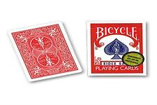 BICYCLE RIDER BACK RED DECK GOLD STANDARD PLAYING CARDS USPCC POKER MAGIC TRICK