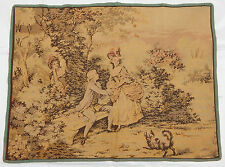 Vintage French Beautiful Romance in Garden Tapestry Wall Hanging 64X85cm T57