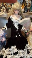 "Rustie porcelain doll 40"" One of a kind original doll 1 of 1 made in 1996"