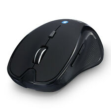 Bluetooth Ergonomic V3.0 Wireless Optical Mouse Mice 1600DPI for Laptop/Tablet