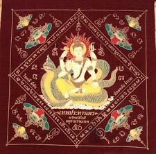 Magic Pha Yan Amulets  Thai Buddha Phar Rahu Yantra Ganesha Pra yant Brahma