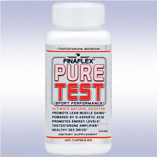 FINAFLEX PURE TEST (120 CAPSULES) natural testosterone and sex drive booster