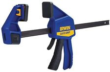 New IRWIN QUICK-GRIP 12-in Vise Clamp Bar Locking Original Mini Handed Tools