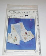 STITCHERS VEST II COUNTED CROSS STITCH PATTERN PATTERN ONLY BY CDA
