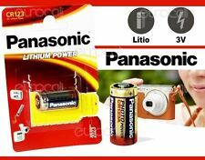 PANASONIC Lithium Power 3V CR123 Battery ( DL123A CR123R DL123A K123LA CR17345 )