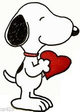 "10.5"" SNOOPY HEART LOVE WALL SAFE STICKER CHARACTER BORDER"