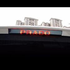 Black Stainless Steel Brake Light Cover For Toyota Land Cruiser Prado 2014~2016