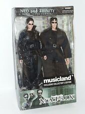 "2000 N2 Toys The Matrix Musicland Exclusive Neo & Trinity 6"" Action Figure Set"