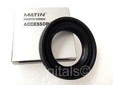 58mm Rubber Folding Lens Hood Sun Shade Collapsable Matin 58 mm Screw-in