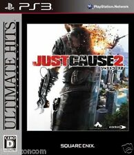 Used PS3  Just Cause 2 SONY PLAYSTATION 3 JAPAN JAPANESE IMPORT
