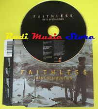CD Singolo FAITHLESS Mass destruction 2004 eu BMG 82876610752 no lp mc dvd (S11)