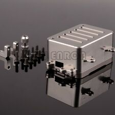 CNC Aluminum RC Upgraded Radio Box For 1:10 Axial SCX10 AX80028