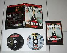 2 Dvd SCREAM 1 e SCREAM 2 – Horror 2002 RARO Fuori catalogo Wes Craven