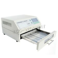 T962 Infrared SMD BGA IC Heater Automatic Reflow Oven Soldering Area 180×235mm