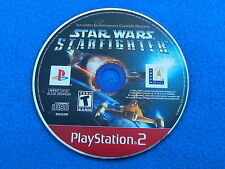 Star Wars: Starfighter Greatest Hits (PlayStation 2, 2002) Disc Only - Tested