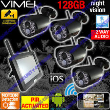 Home Camera Security System DIY CCTV IP Night Vision Backup Remote Phone View