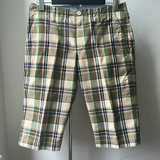 Very Cool JUNYA WATANABE COMME des GARCONS MAN Cotton tartan shorts Sz S