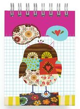 "Wise Owl Mini Notebook - 3""x4"" - Bird/Stationery/Jotter/Pad/Notes/Book/Paper"