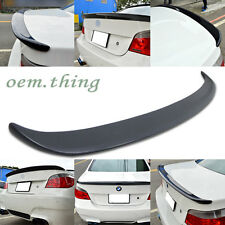 Unpainted BMW 5-Series E60 4DR A Type Trunk Spoiler Wing ABS 525i 540i M5