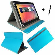10.1 inch Case Cover Book For MEDION LIFETAB P10400 - Baby Blue 10.1""