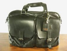 $795 Tumi 94216D Townhouse Leather Lonsdale Briefcase Attache Messenger Bag Pack