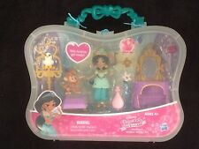 DISNEY PRINCESS LITTLE KINGDOM GOLDEN VANITY PLAY SET - JASMINE & ABU BNIP