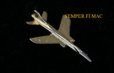 F-105 THUNDERCHIEF REPUBLIC GOLD HAT LAPEL PIN MADE IN US AIR FORCE AFB WING