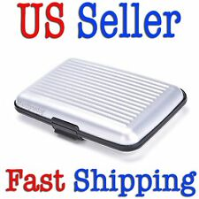 Aluminum Wallet Blocking Credit Card Case  Keep RFID Cards Safe From Theft USA