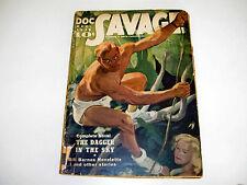 Doc Savage December 1939 The Dagger In The Sky