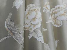 Zoffany Curtain Fabric 'Woodville Silk' 3.9 METRES (390cm) Tussah - 100% Silk