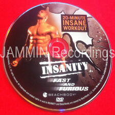 INSANITY - Fast And Furious - DVD - New