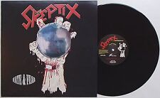 Skeptix - Hate & Fear LP Discharge Abrasive Wheels GBH Varukers Blitz UK 82 Punk