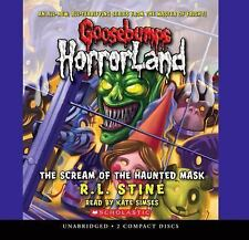 Goosebumps HorrorLand #4: Scream of the Haunted Mask: Library Edition Audio Book