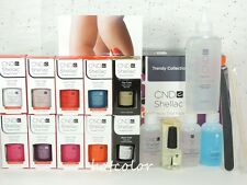 CND Shellac TRENDY Trial Pack Kit of 8 Color & Base Top Coat / Intro Pack System