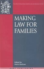 Onati International Series in Law and Society: Making Law for Families 3...