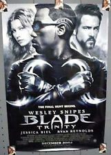 1-Sheet Movie Poster BLADE TRINITY Wesley Snipes