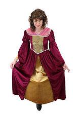 Aufwändiges Kostüm Kleid Damenkostüm Mittelalter Edelfrau Gothic Cosplay XL, 46
