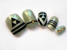20pc or 50pc Zelda vinyl nail decals, nail stickers, DIY nails